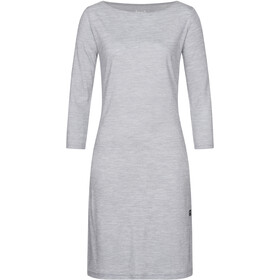super.natural Barb Vestito Donna, silver grey melange